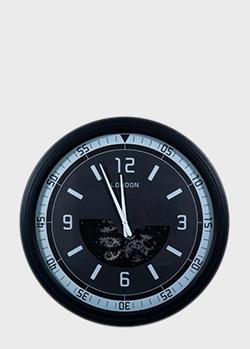 Настенные часы Skeleton Clocks Wallis черные, фото
