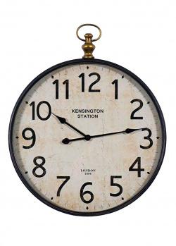 Часы круглые Kensington Station Antique Clocks Dickson под старину, фото