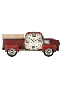 Часы Loft Clocks & Co Fondert Red в виде пикапа, фото