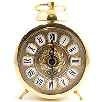 Настольные часы Alberti Livio Sveglia с будильником, фото