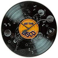 Настенные часы Next Time All the Disco, фото