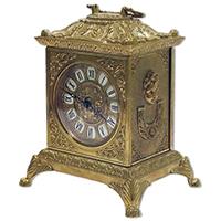 Часы каминные Alberti Livio на декоративных ножках, фото