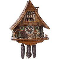 Настенные часы Hoenes с кукушкой 86209t, фото