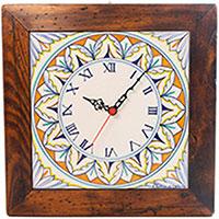 Настенные часы L'Antica Deruta Орнамент, фото