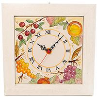 Настенные часы L'Antica Deruta Фрукты и овощи, фото