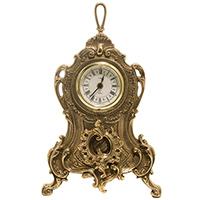 Часы каминные Alberti Livio с декором в стиле барокко, фото
