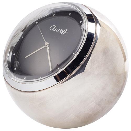 Часы посеребрение Christofle Radius, фото