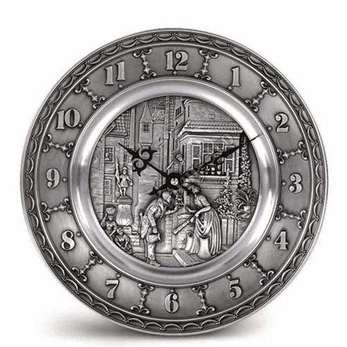 Часы настенные Artina К.Шпицвег с декором, фото