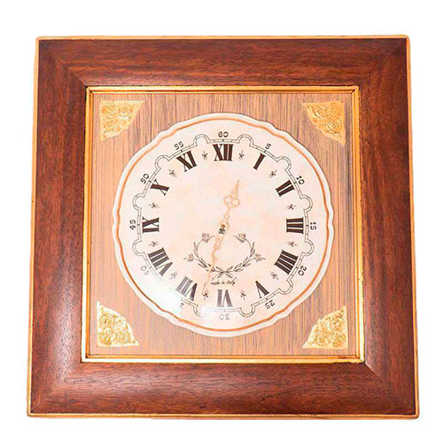 Настенные часы Capanni с корпусом квадратной формы, фото
