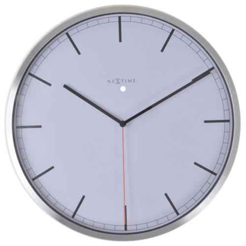 Белые часы Next Time Сompany-stripe, фото