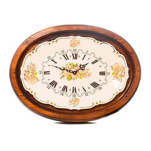 Настенные часы Capanni с рисунками цветов, фото