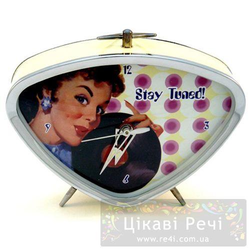 Часы с будильником «Stay Tuned», фото