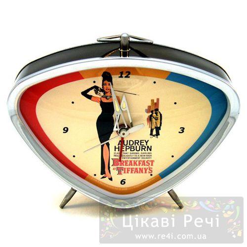 Часы с будильником «Завтрак у Тиффани», фото