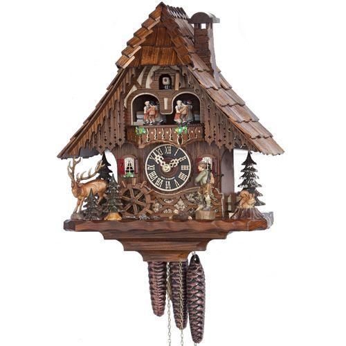 Настенные часы Hoenes с кукушкой 6209t, фото
