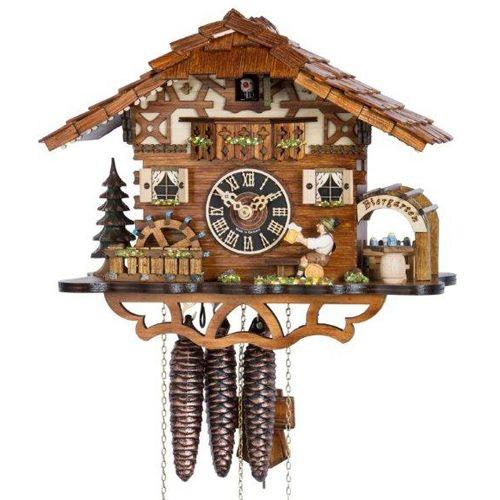 Настенные часы Hoenes с кукушкой 665mbr, фото