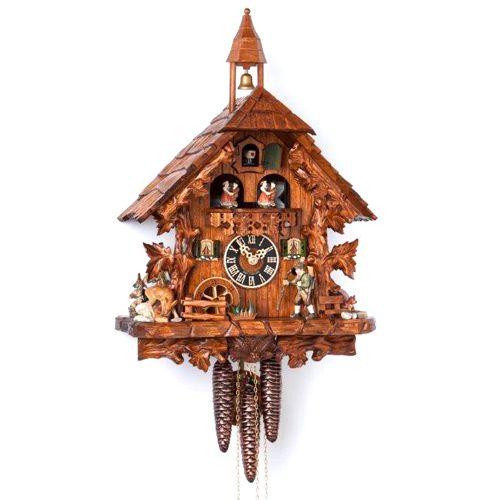 Настенные часы Hoenes с кукушкой 6740t, фото