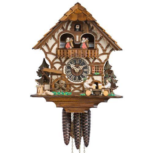 Настенные часы Hoenes с кукушкой 6756t, фото