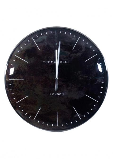 Абстрактные настенные часы Thomas Kent Oyster, фото