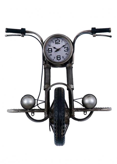 Часы в виде мотоцикла Loft Clocks & Co Davids настенные, фото