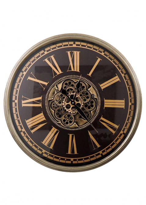 Настенные часы Skeleton Clocks Thom в ретро-стиле, фото