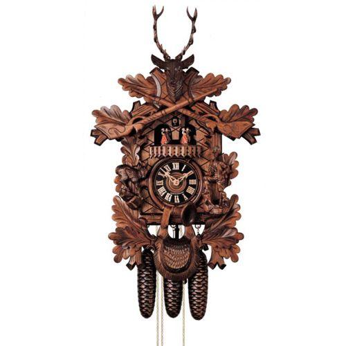 Настенные часы Hoenes с кукушкой 8674-5tnu, фото