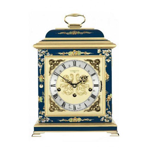 Настольные часы Comitti The Georgian Basket Top in Chinoiserie C4611TCH-BL, фото