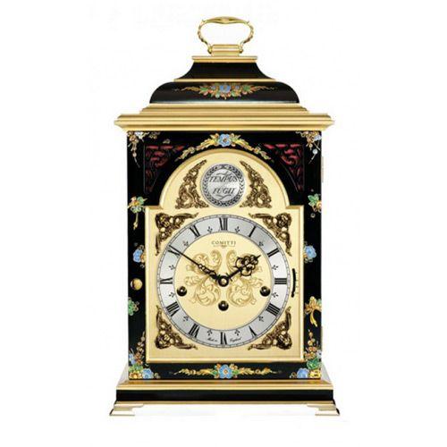 Настольные часы Comitti The Georgian Bell Top in Chinoiserie C4612TCH-B , фото