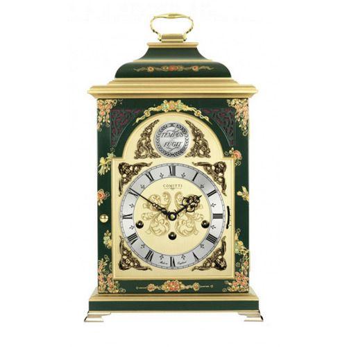 Настольные часы Comitti The Georgian Bell Top in Chinoiserie C4612TCH-G, фото