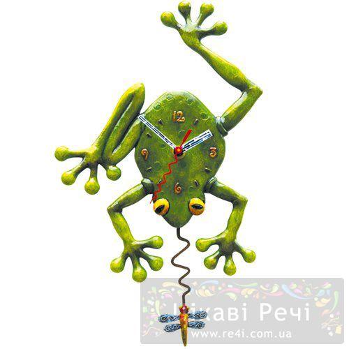 Часы настенные «Лягушка», фото