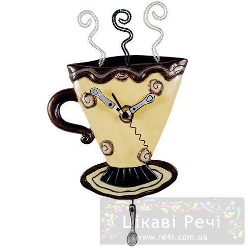 Часы настенные «Чашка с кофе», фото