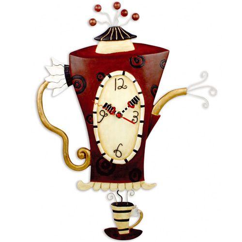 Часы Кофейник, фото