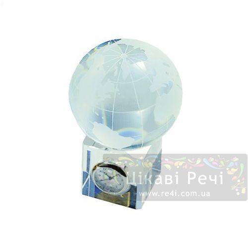 Настольные часы Hilser-Jaccard H3401230 Crystal Globe, фото