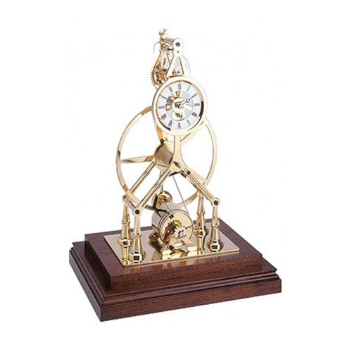 Настольные часы Comitti The Gold Plated Great Wheel S200G, фото
