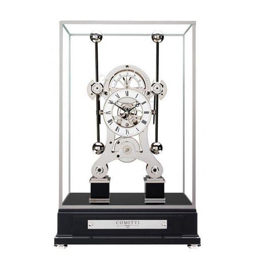 Напольные часы Сomitti The Rhodium Plated Grasshopper S216S, фото