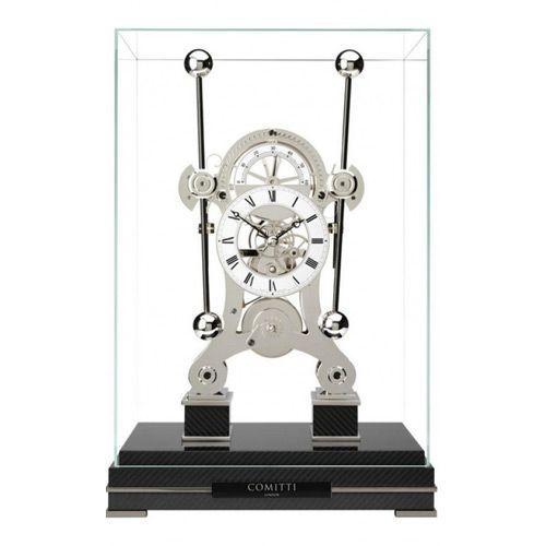 Напольные часы Сomitti The Grasshopper in Rhodium S5666S, фото