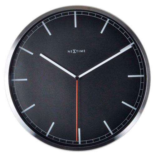 Черные часы Next Time Сompany-stripe