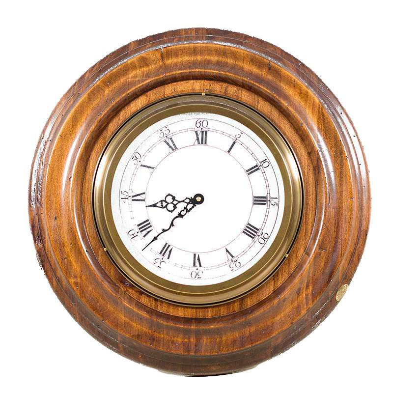 Настенные часы Capanni с циферблатом с арабскими и римскими цифрами