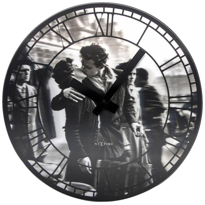 Настенные часы Next Time Kiss me in Paris