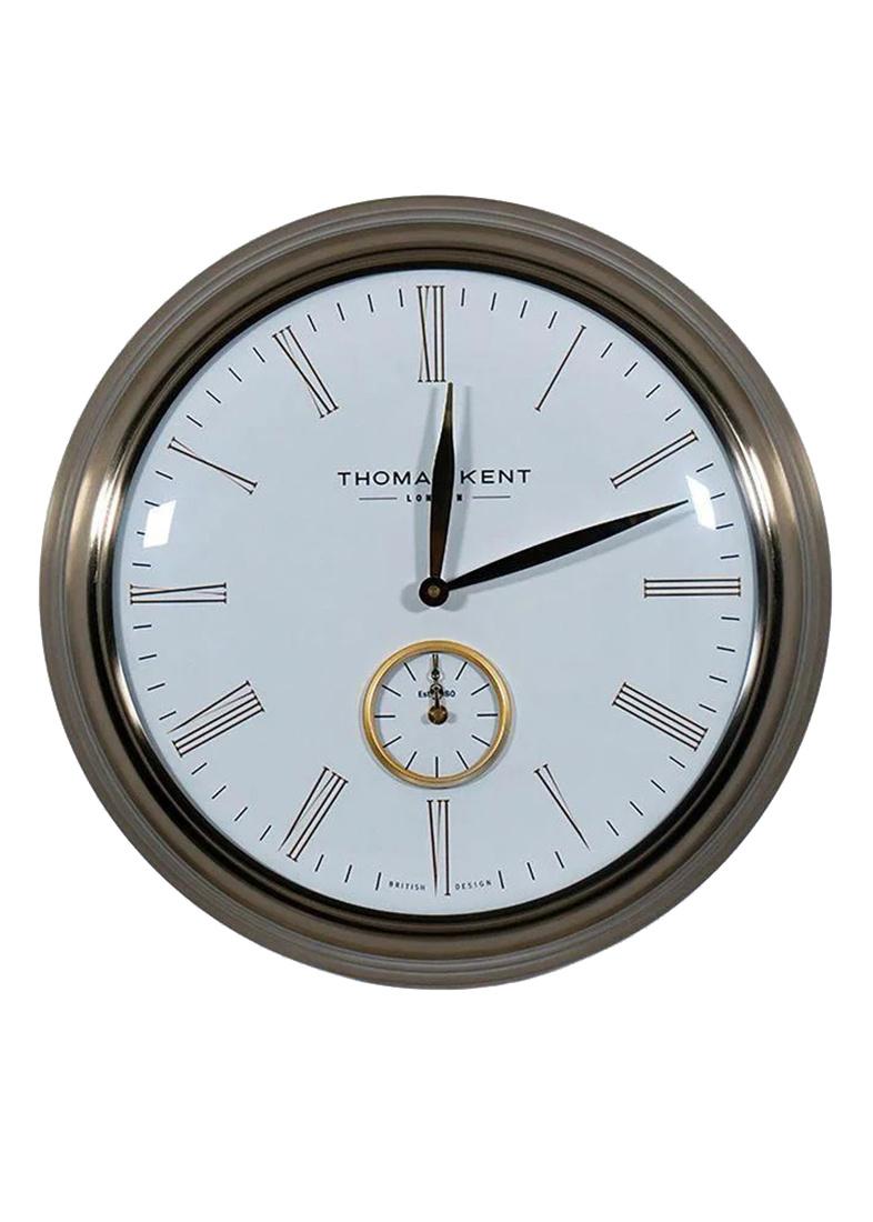Настенные часы Timekeeper Thomas Kent с белым циферблатом