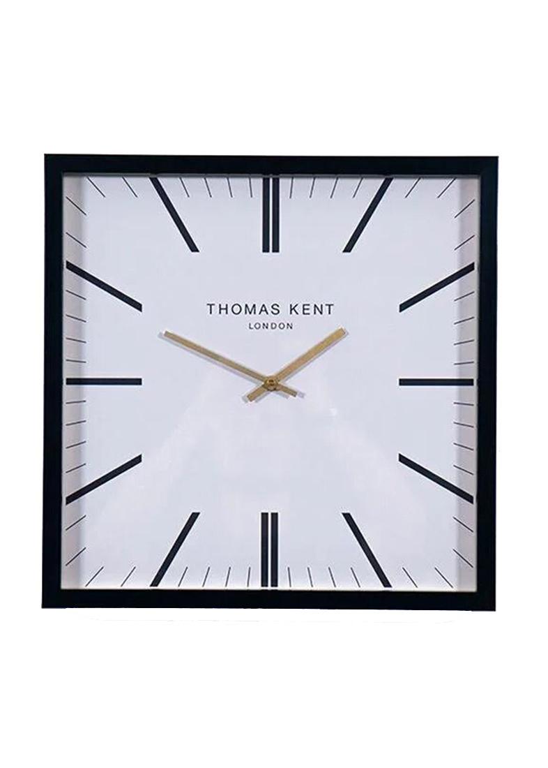 Белые настенные часы Thomas Kent Smithfield