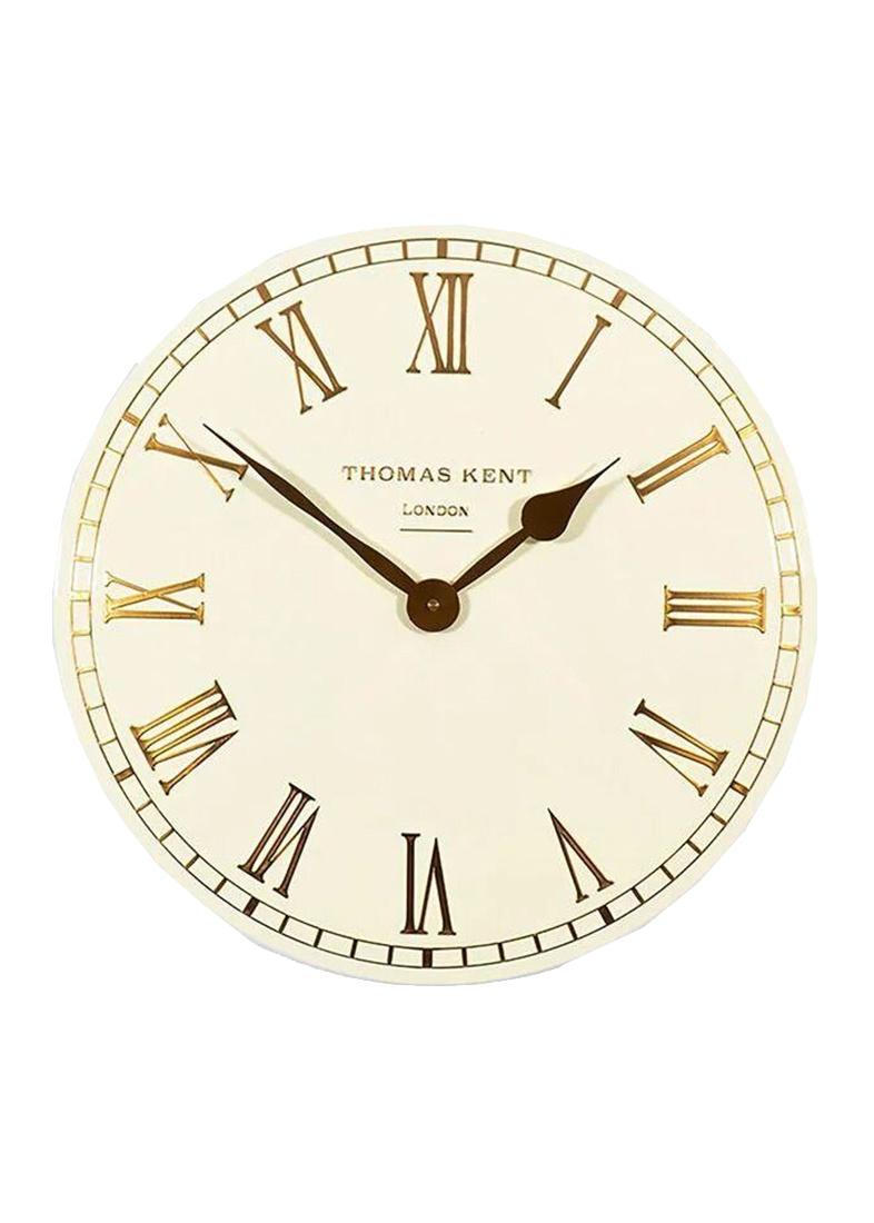 Часы молочного цвета Thomas Kent Oxford настенные