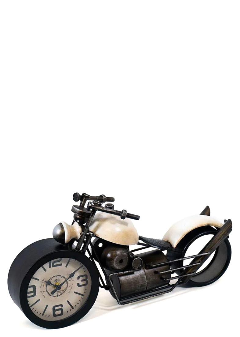 Настольные часы Loft Clocks & Co Bobber в виде мотоцикла