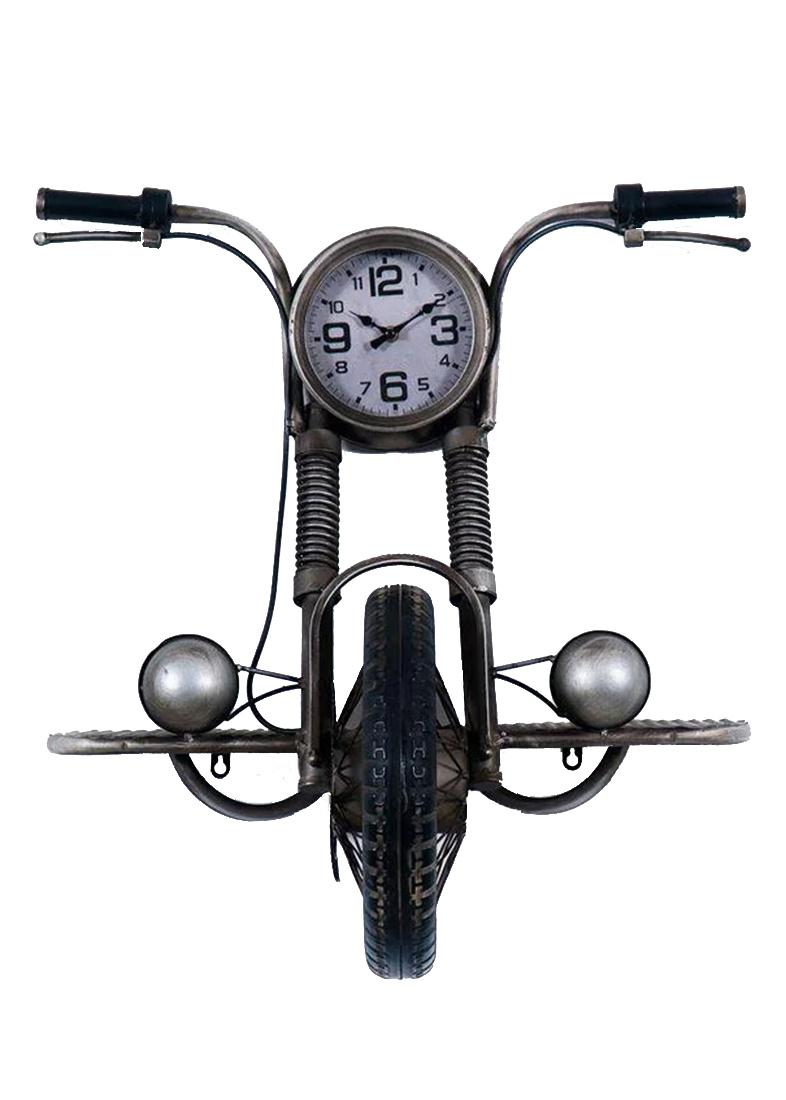Часы в виде мотоцикла Loft Clocks & Co Davids настенные