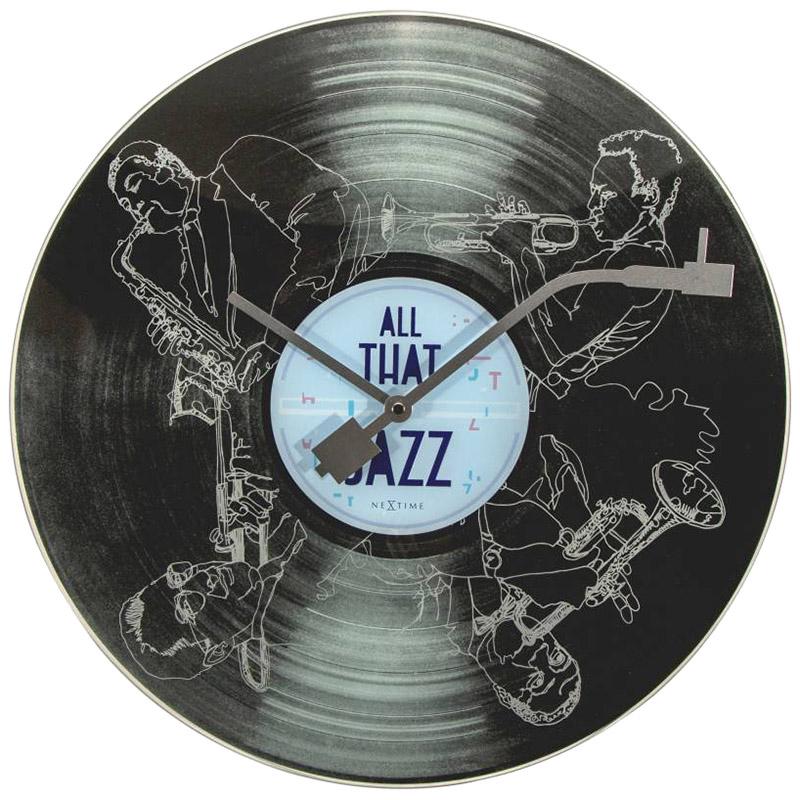 Настенные часы Next Time All the Jazz
