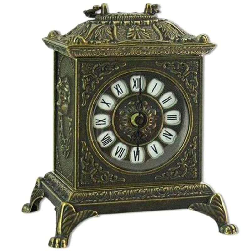 Часы каминные Alberti Livio цвета бронзы