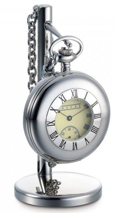 Карманные часы с подставкой Dalvey Half Hunter