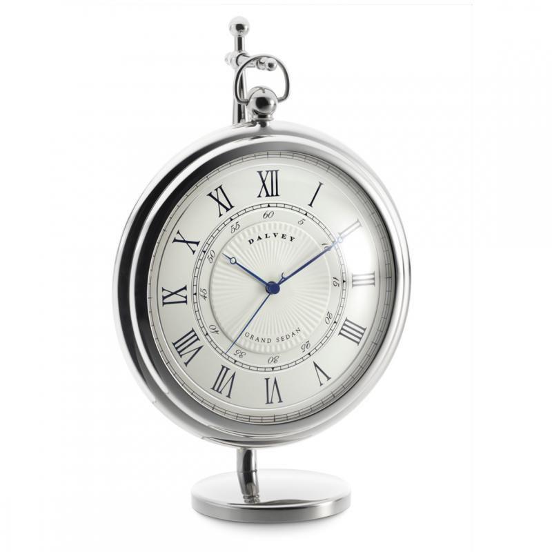 Часы настольные Dalvey Grand Sedan Clock с подставкой