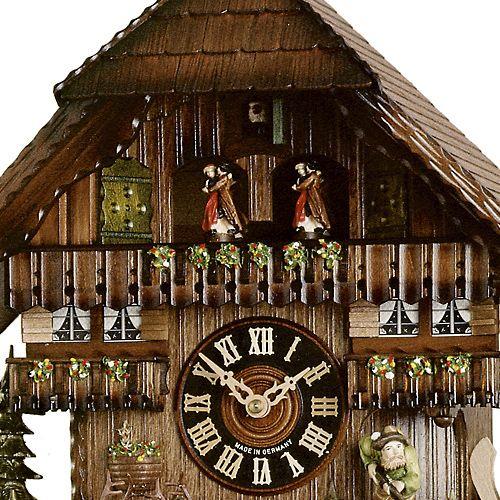 Настенные часы Hoenes с кукушкой 8688t, фото