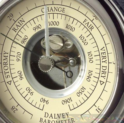 Барометр Dalvey с настольной подставкой, фото