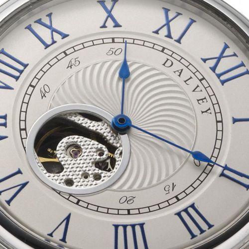 Карманные часы Dalvey Open Face на цепочке с подставкой, фото